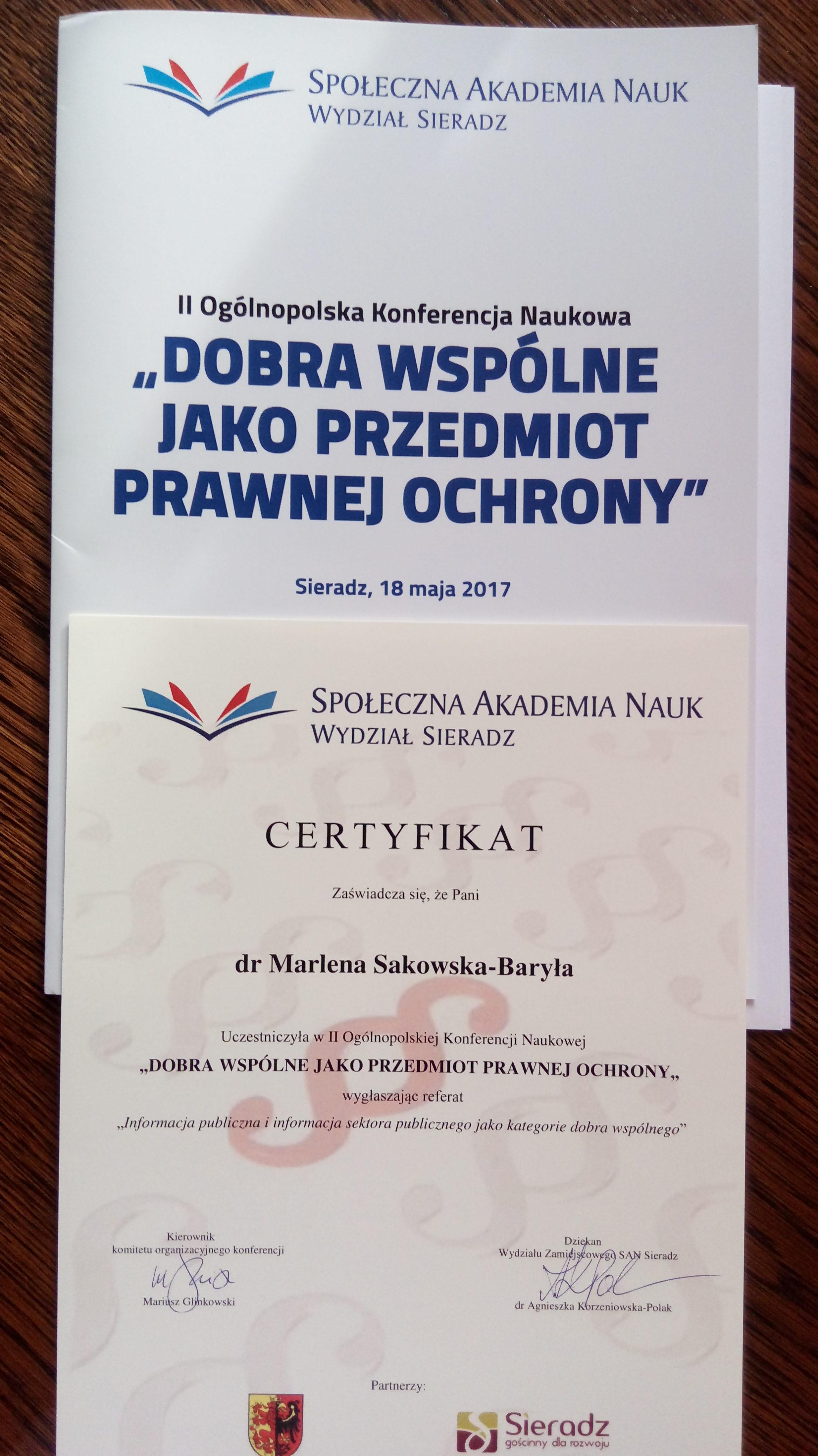 konferencja Sieradz